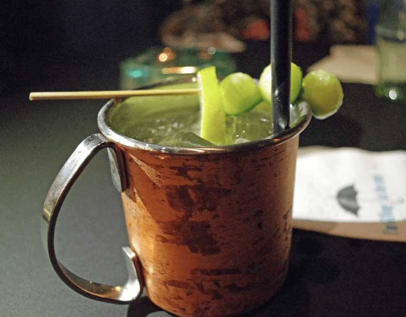 Moscow Mule, cocktail Long Drink